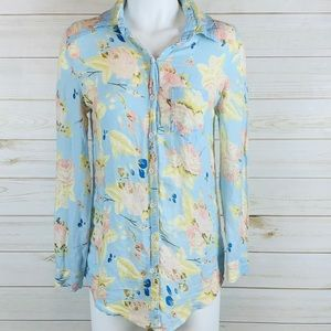 Anthropologie~ Margot floral shirt